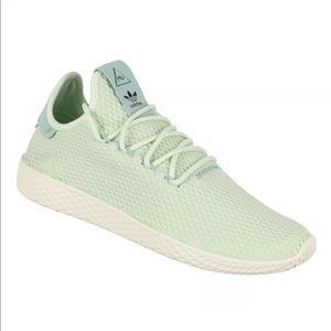 Adidas Pharrell Williams Tennis HU Shoes Green